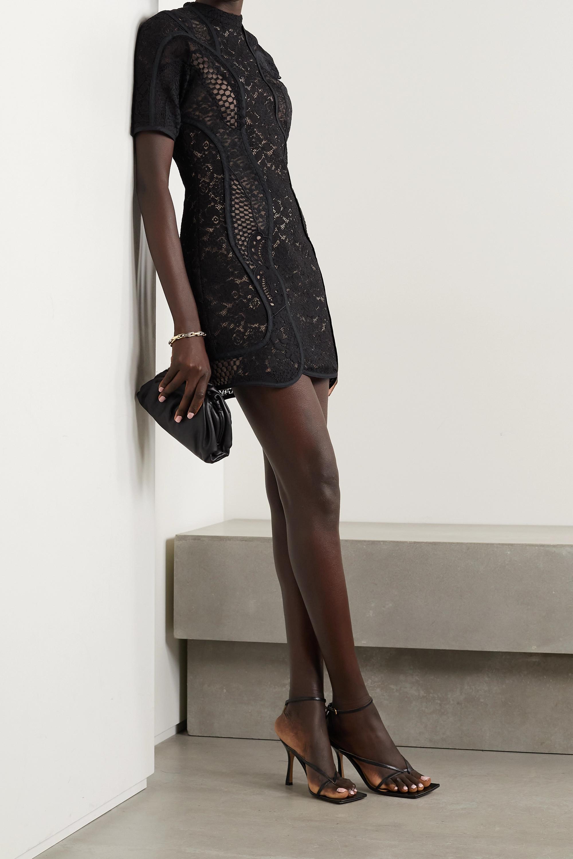 Stella McCartney Edith corded lace mini dress