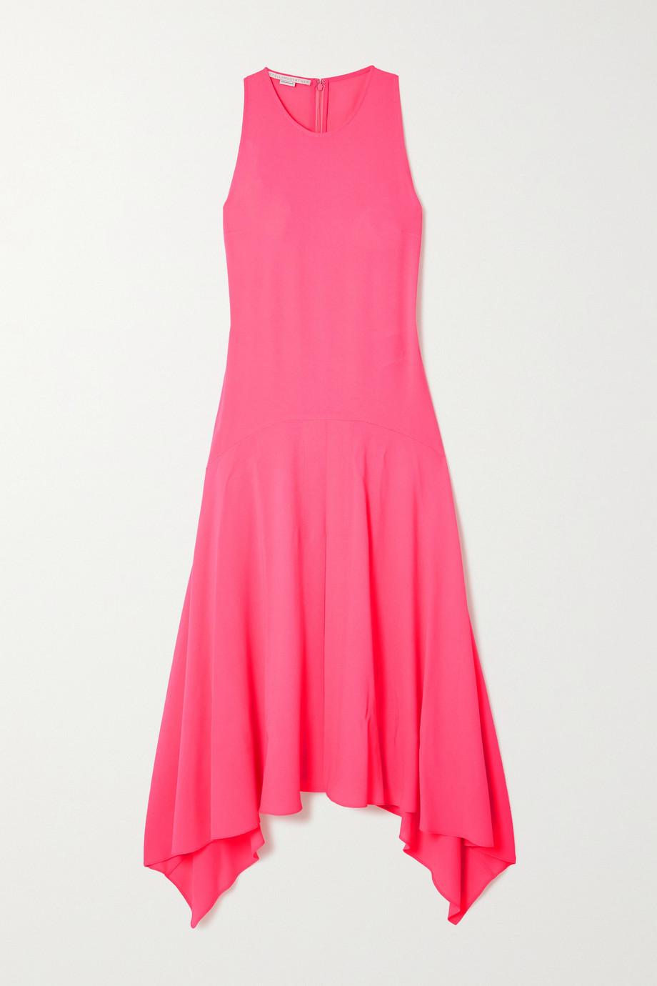 Stella McCartney Anabelle asymmetric crepe dress