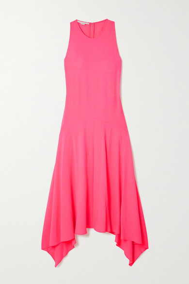 Stella Mccartney Maxi dresses ANABELLE ASYMMETRIC CREPE DRESS