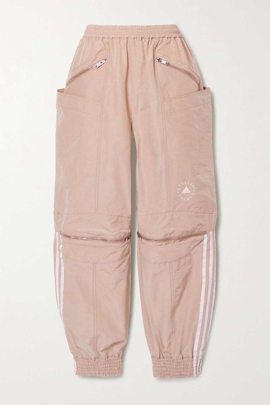 Stella McCartney + adidas Originals striped shell track pants