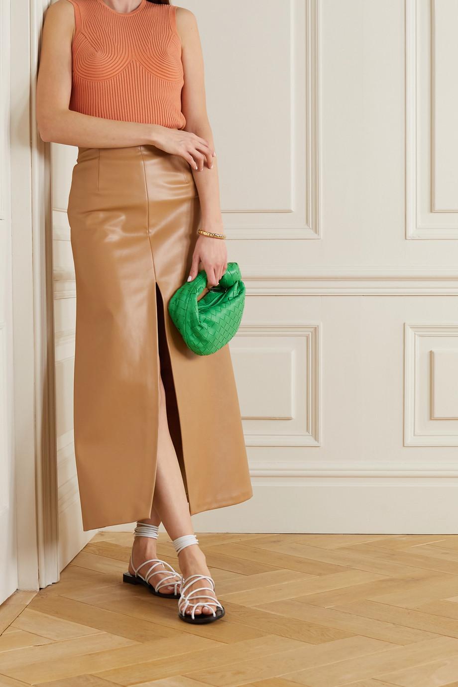 Stella McCartney Ribbed organic cotton-blend top