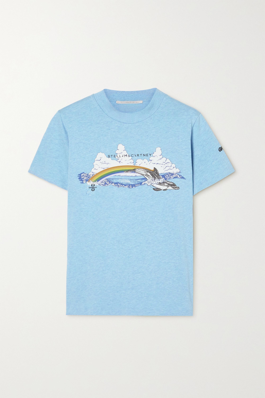 Stella McCartney + Greenpeace printed organic cotton-jersey T-shirt