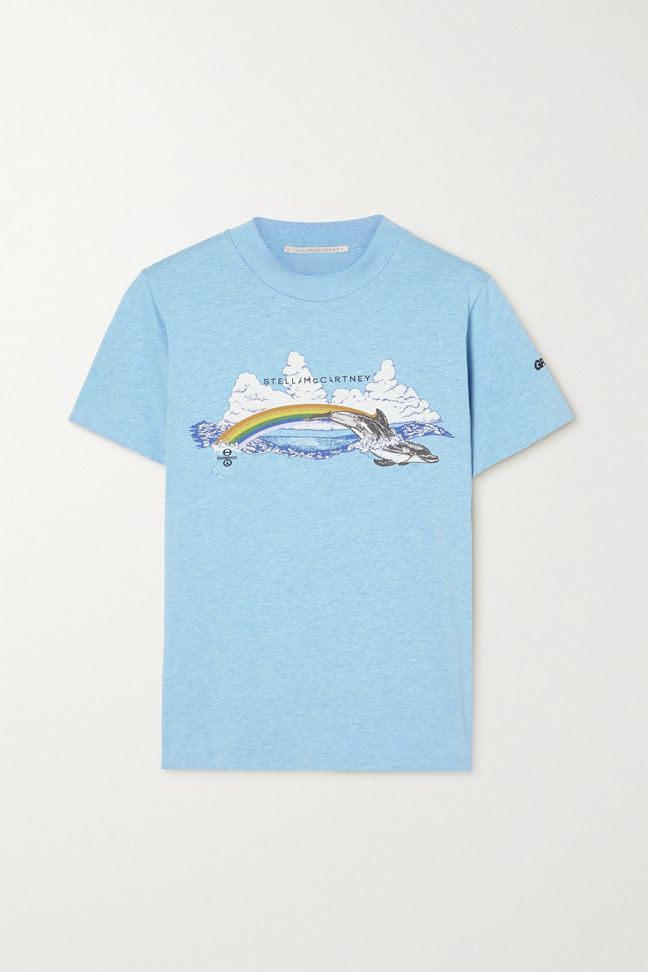 Stella McCartney + Greenpeace printed organic cotton-jersey T-shirt