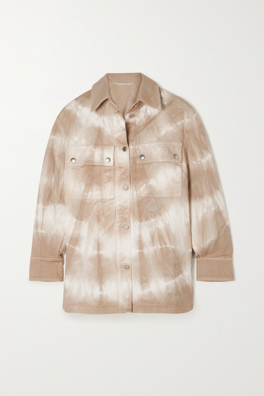 Stella McCartney Tie-dyed organic denim shirt