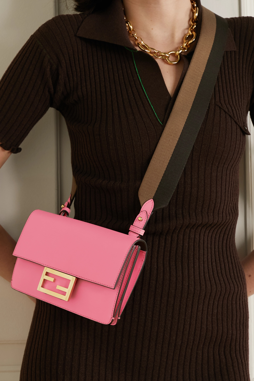 Fendi Flat Baguette medium leather shoulder bag