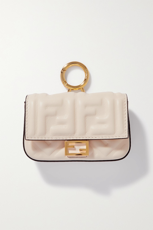 Fendi Baguette nano leather bag charm