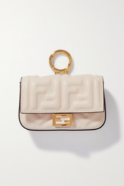 Fendi Baguette nano leather bag charm
