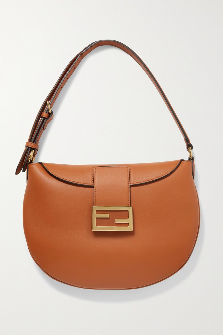 Fendi Croissant medium leather shoulder bag
