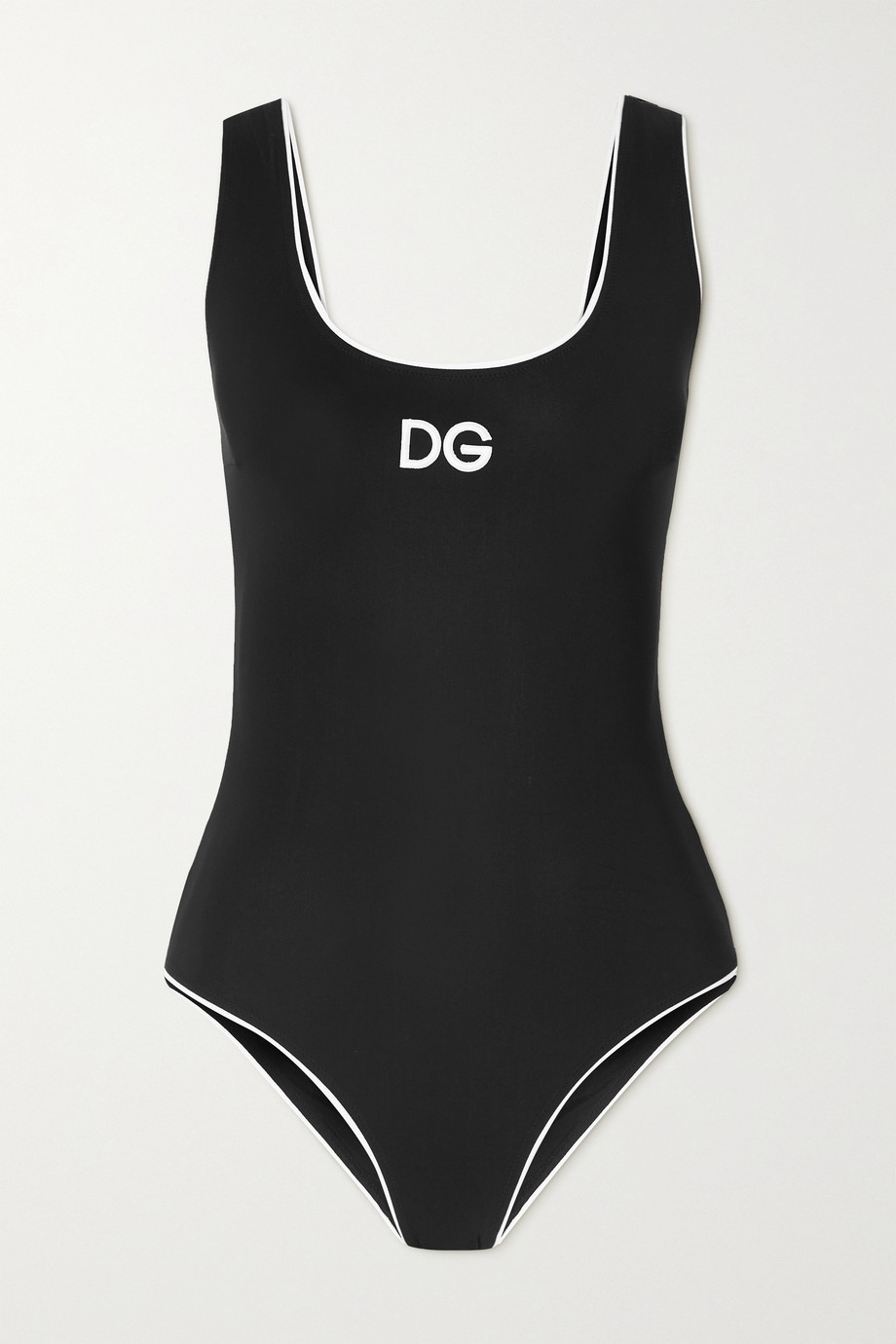 Dolce & Gabbana Olympic Badeanzug mit Stickerei