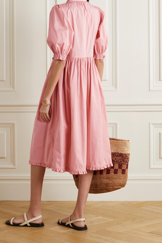 &Daughter + NET SUSTAIN Veronica organic cotton-poplin dress
