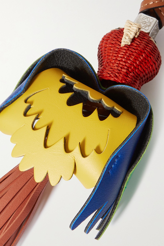 Loewe Charm pour sac à main en raphia et en cuir x Paula's Ibiza