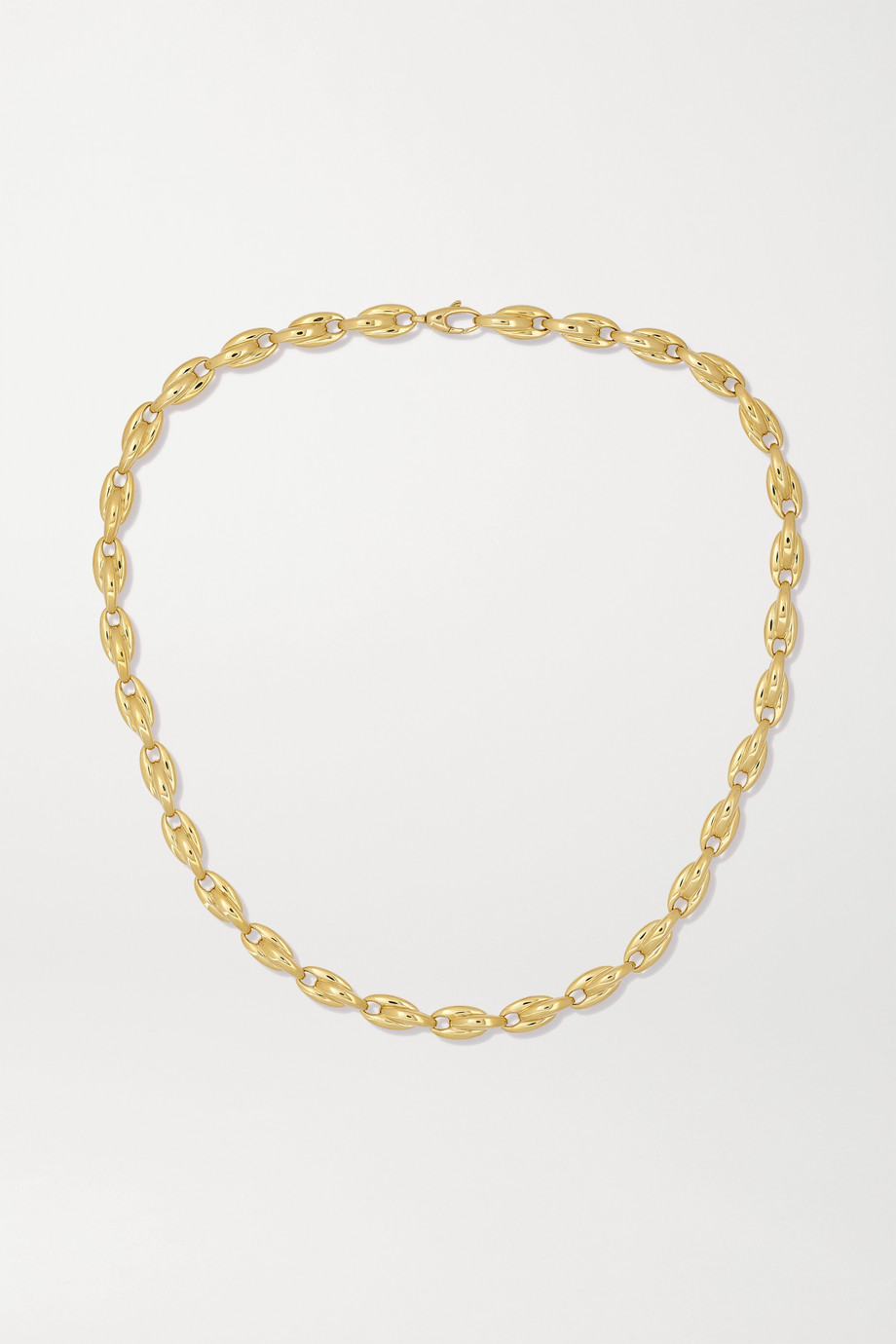 Melissa Kaye Ada 18-karat gold necklace