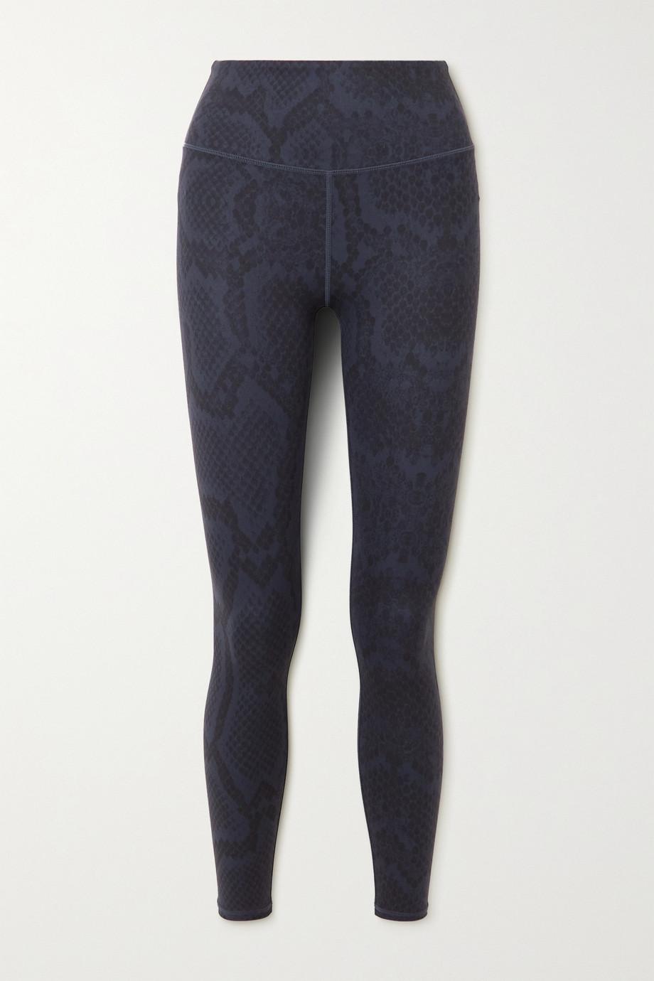 Varley Century snake-print stretch leggings
