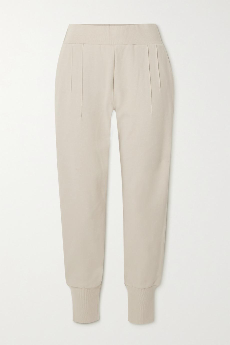 Varley Amberley stretch-cotton piqué track pants
