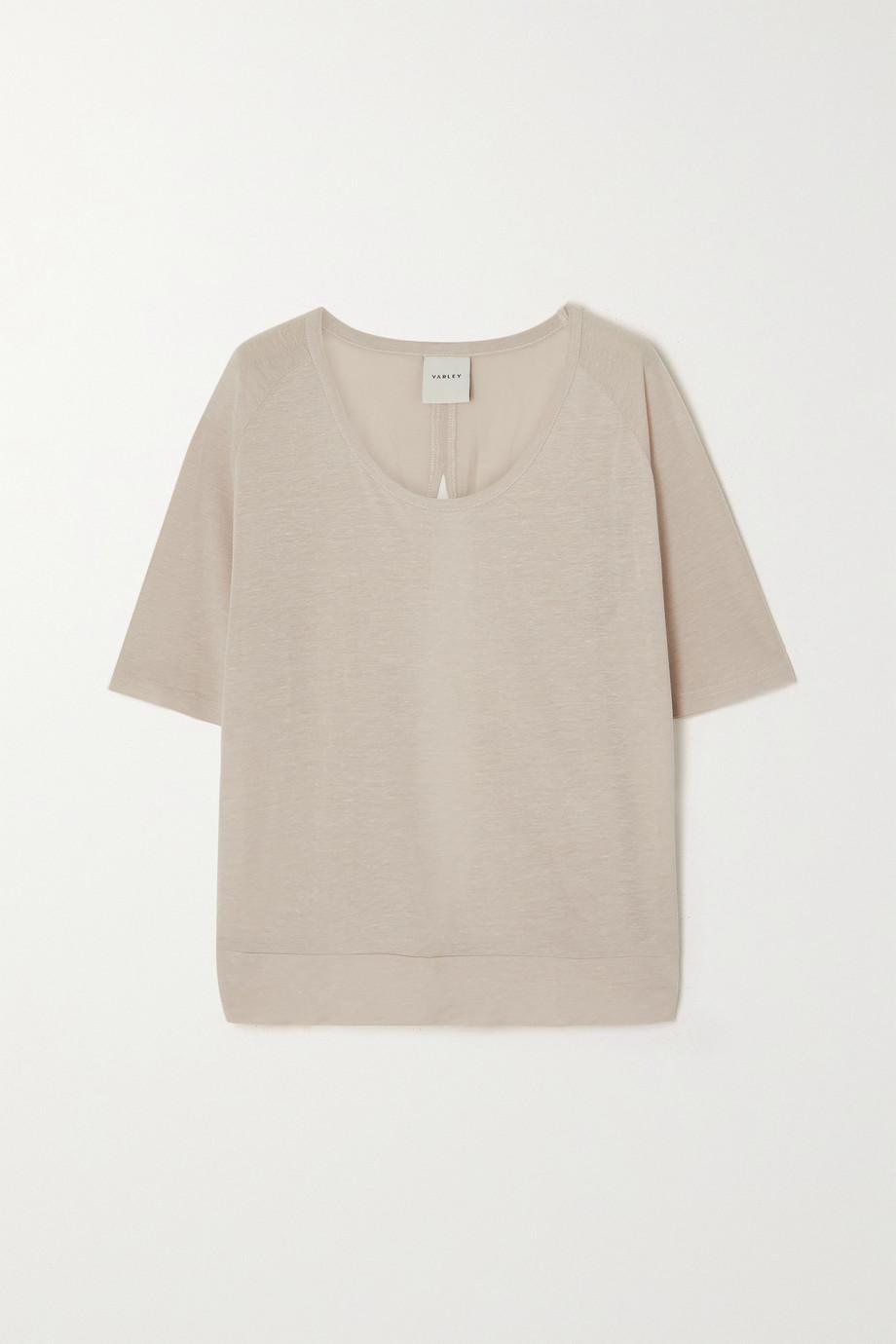 Varley Nava open-back TENCEL Lyocell-blend T-shirt