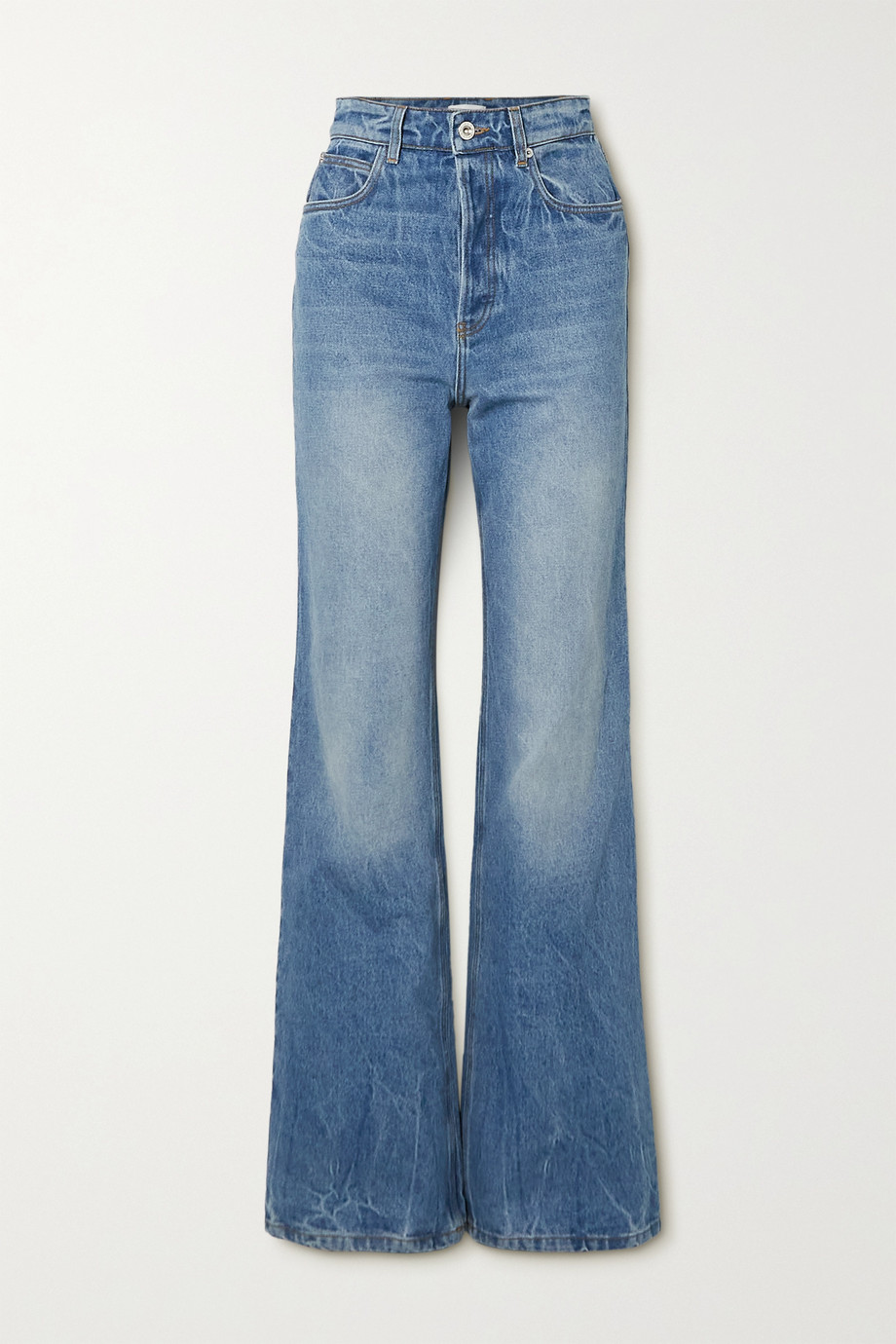 Paco Rabanne Hoch sitzende Jeans mit geradem Bein