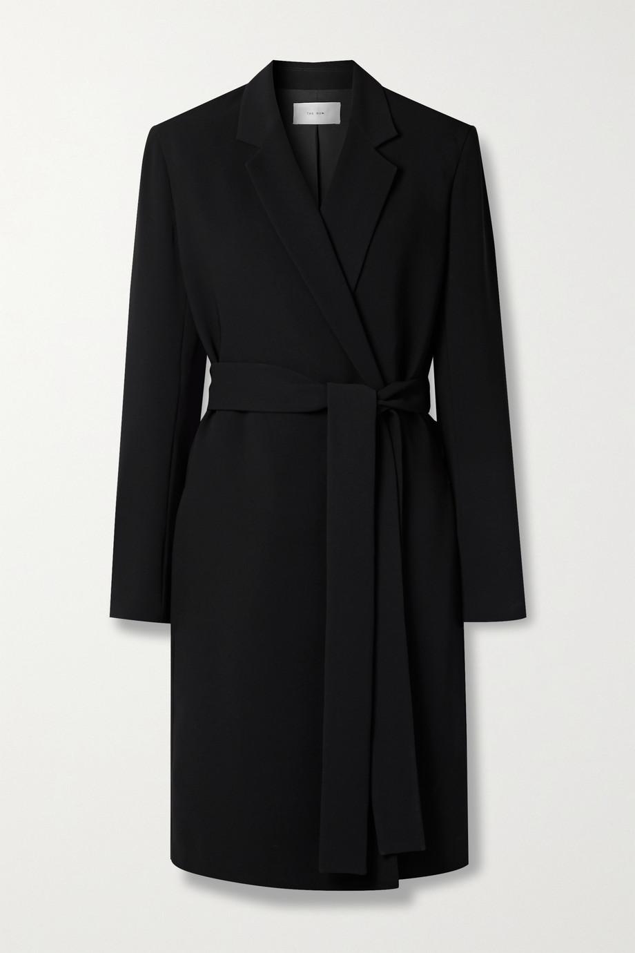 The Row Harri belted cady coat