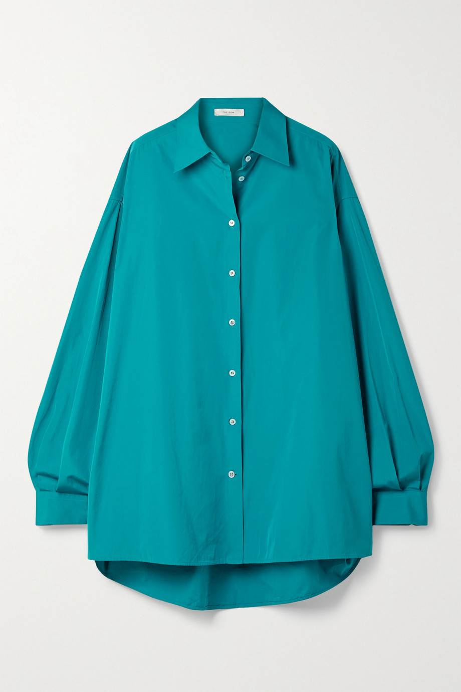 The Row Luka Oversized-Hemd aus Baumwollpopeline