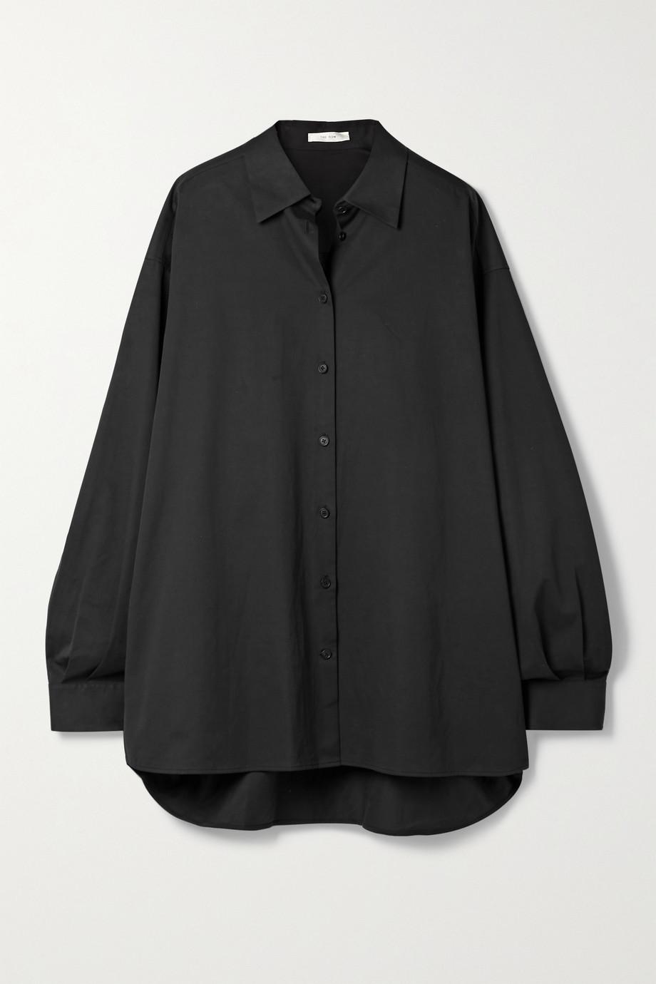 The Row Luka Oversized-Hemd aus Twill aus einer Baumwollmischung