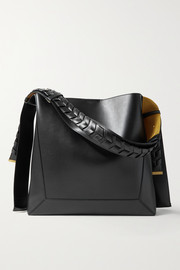 Stella McCartney Large vegetarian leather shoulder bag