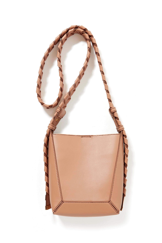 Stella McCartney Small vegetarian leather shoulder bag