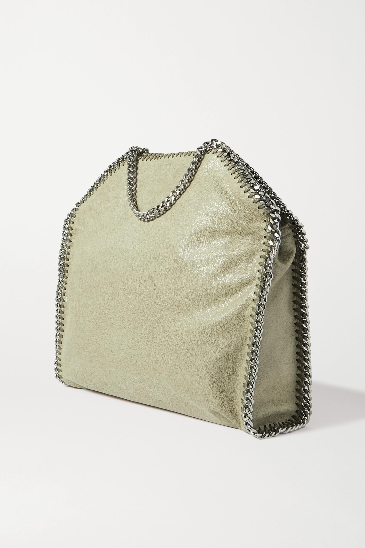 Stella McCartney The Falabella vegetarian brushed-leather tote