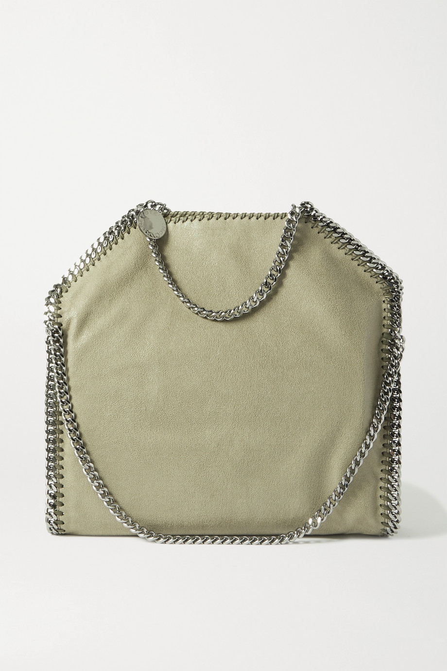 Stella McCartney The Falabella vegetarian brushed-leather tote