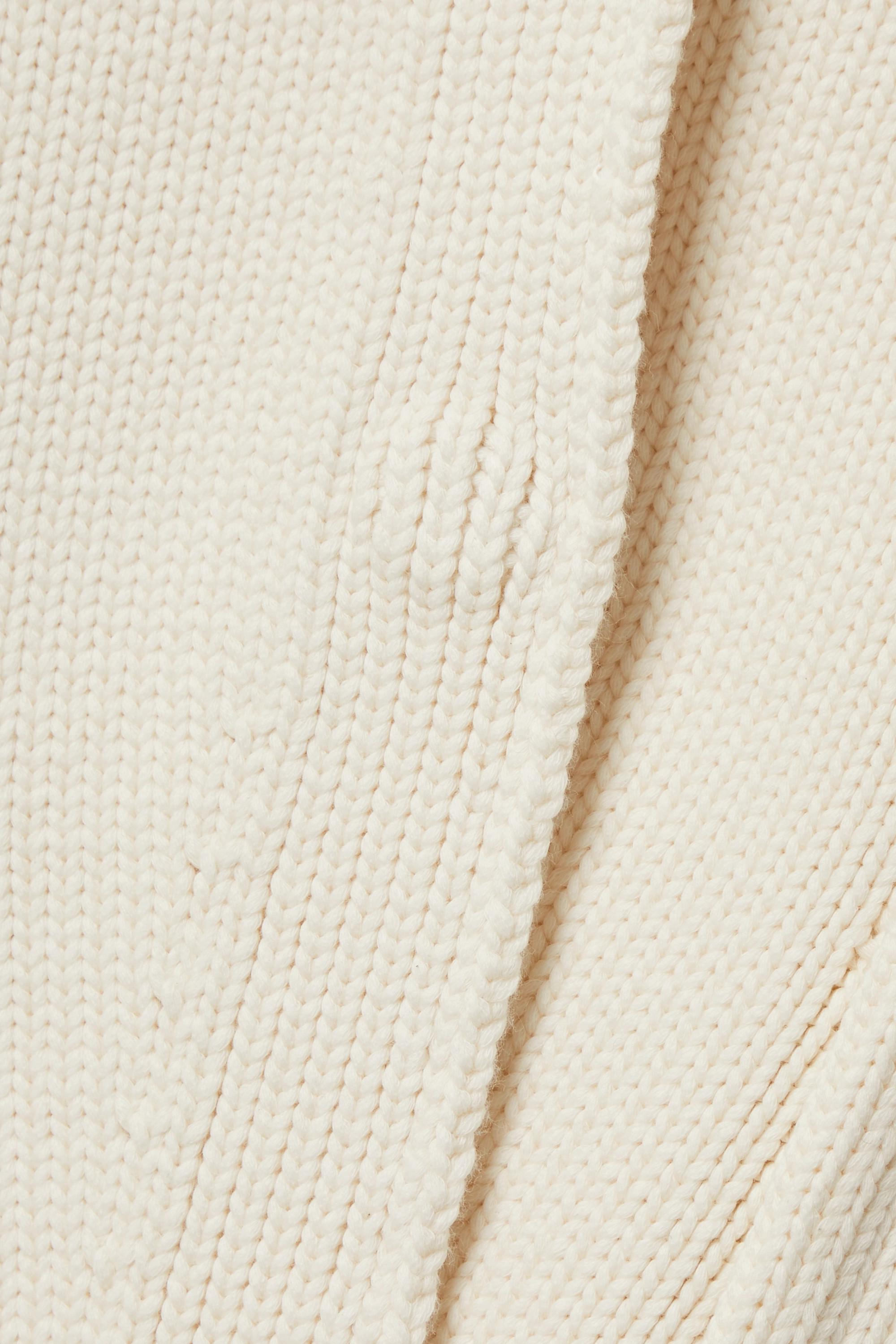 Fendi Cardigan aus Jacquard-Strick aus einer Baumwollmischung