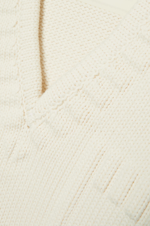 Fendi Verkürzter Pullover aus einer Baumwollmischung