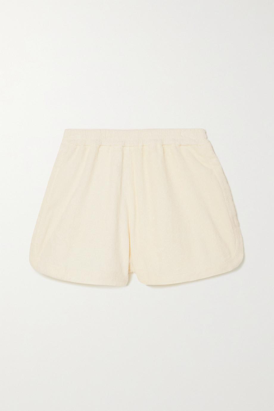 TERRY Cruise 纯棉毛巾布短裤