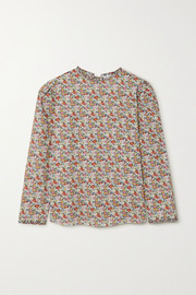 Horror Vacui Betty floral-print cotton blouse