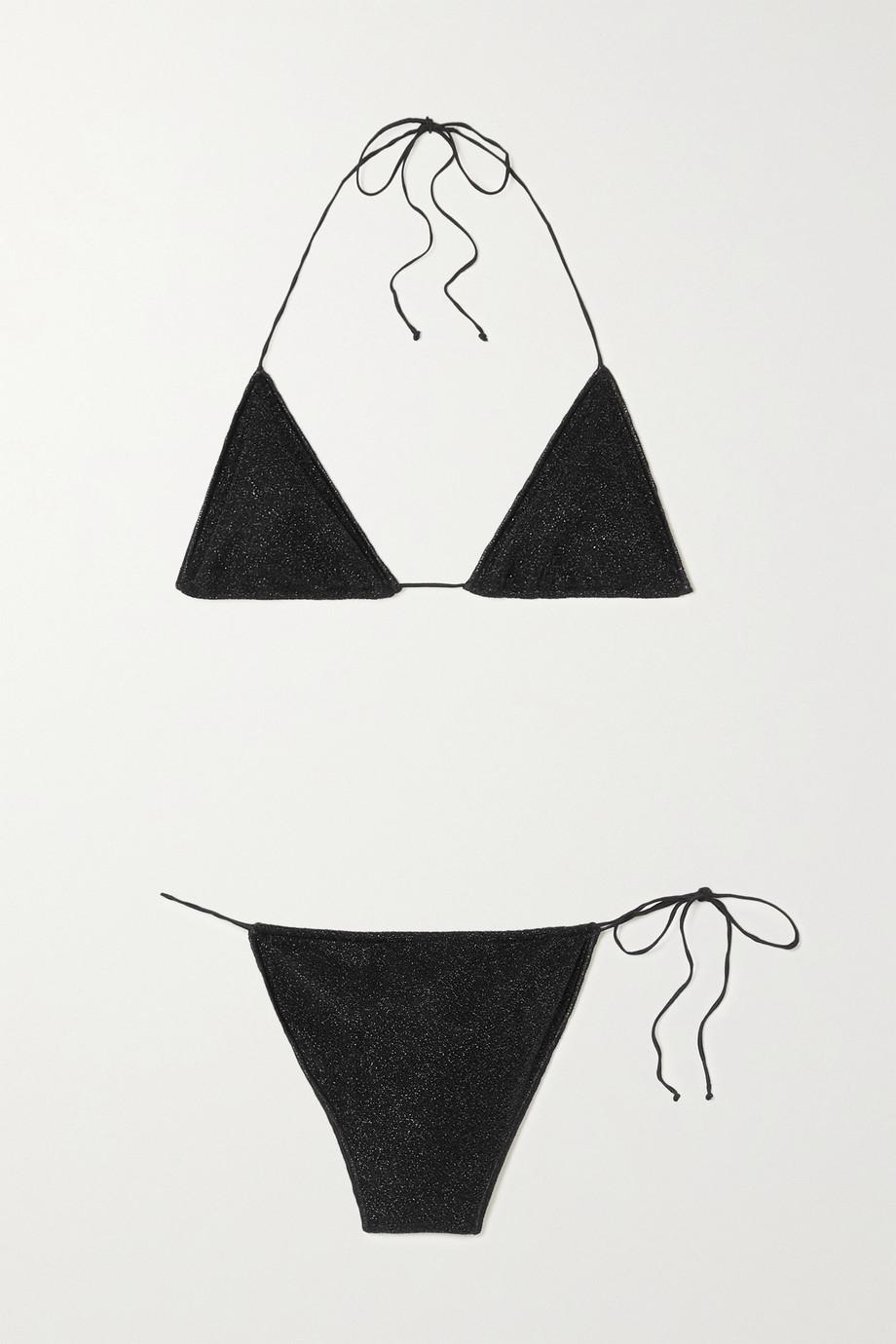 Oséree Lumière Microkini stretch-Lurex bikini