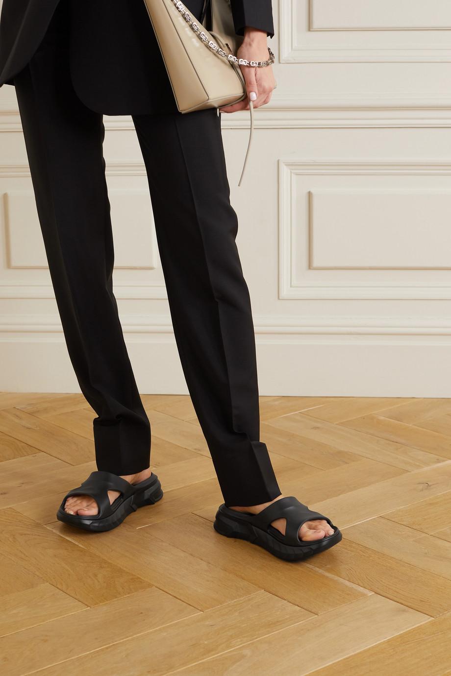 Givenchy Claquettes en caoutchouc Marshmallow