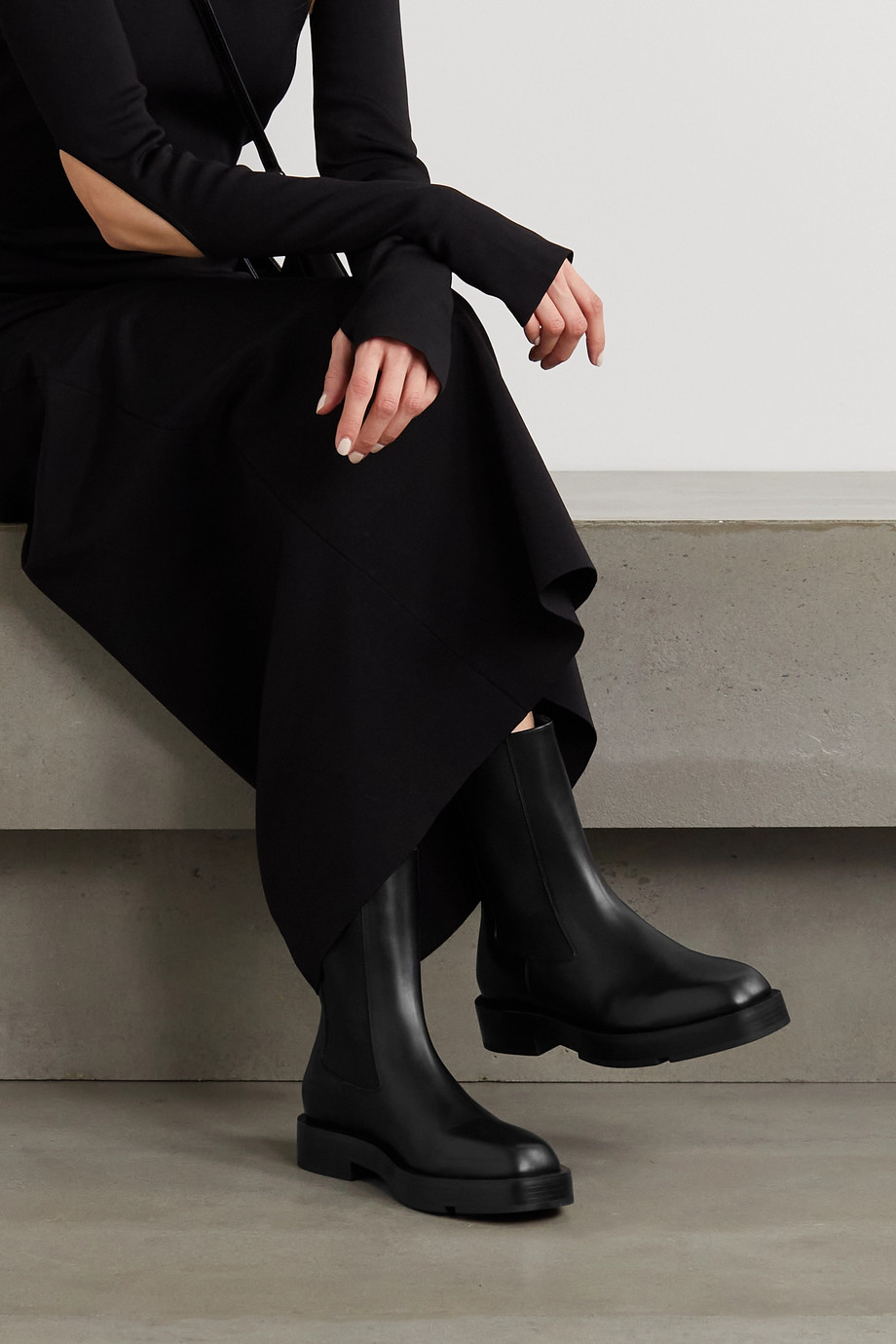 Givenchy Bottines chelsea en cuir