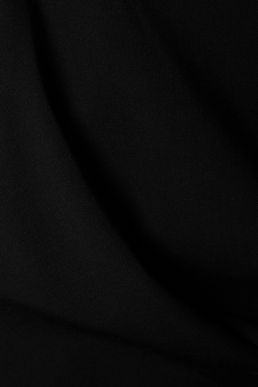Christopher Esber Maxikleid aus einer Wollmischung mit Cut-outs zum Binden