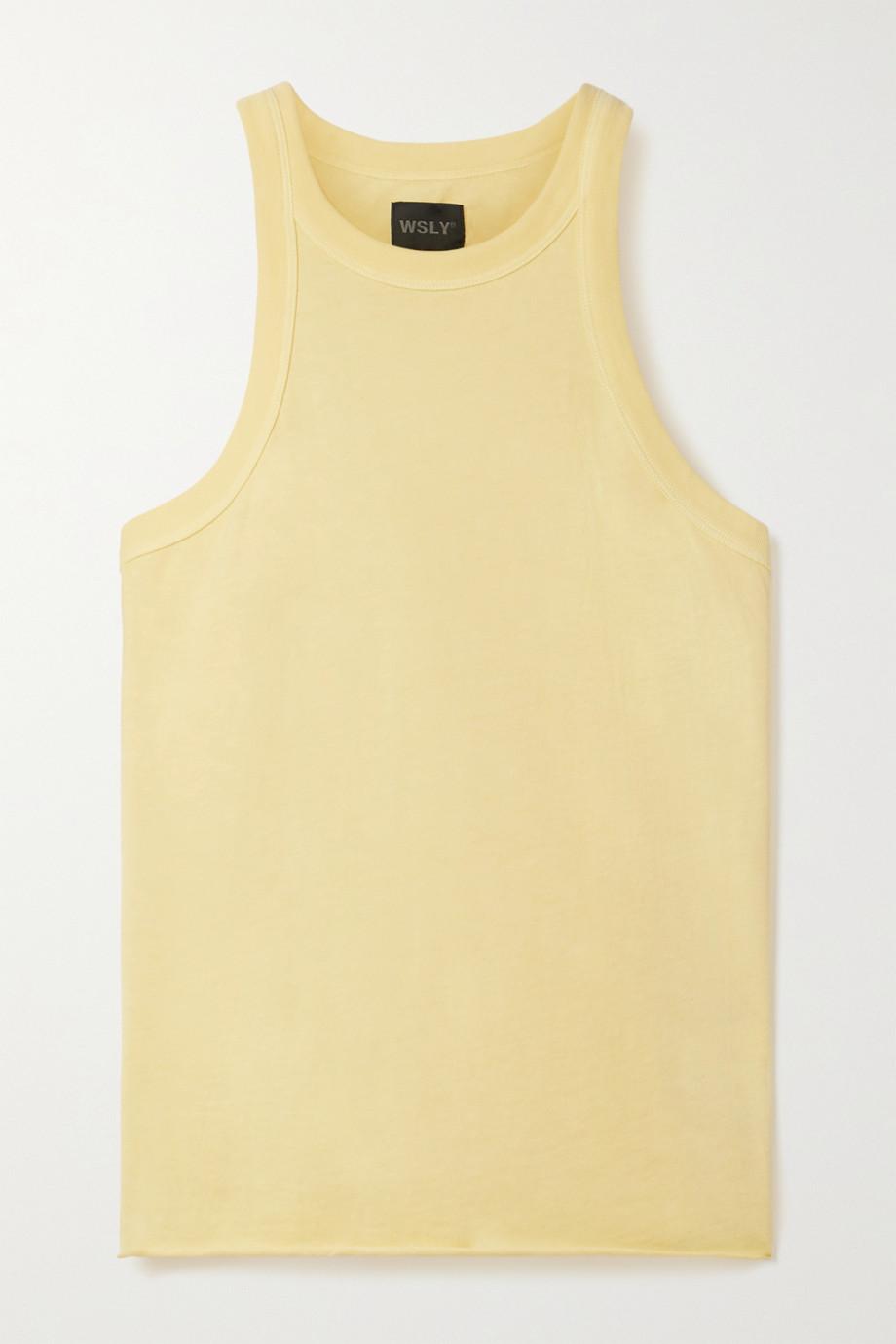 WSLY The Rivington organic cotton-jersey tank