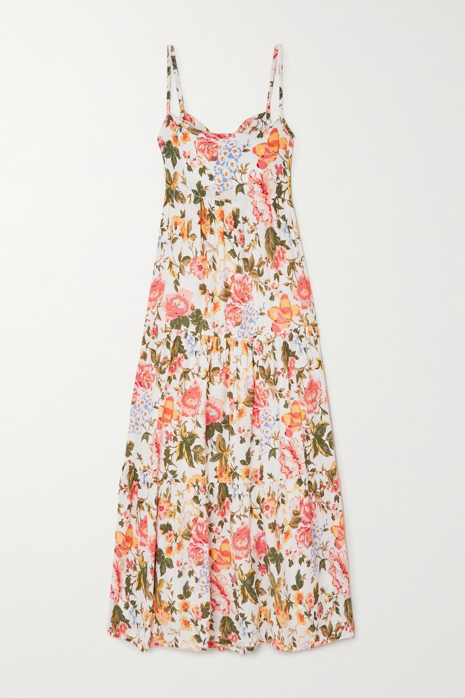 Faithfull The Brand + NET SUSTAIN Corvina floral-print crepe midi dress
