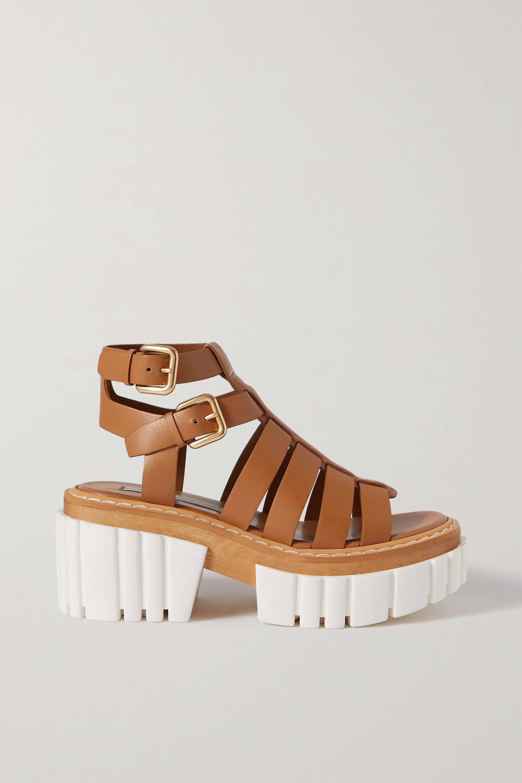 Stella McCartney Emilie vegetarian leather platform sandals