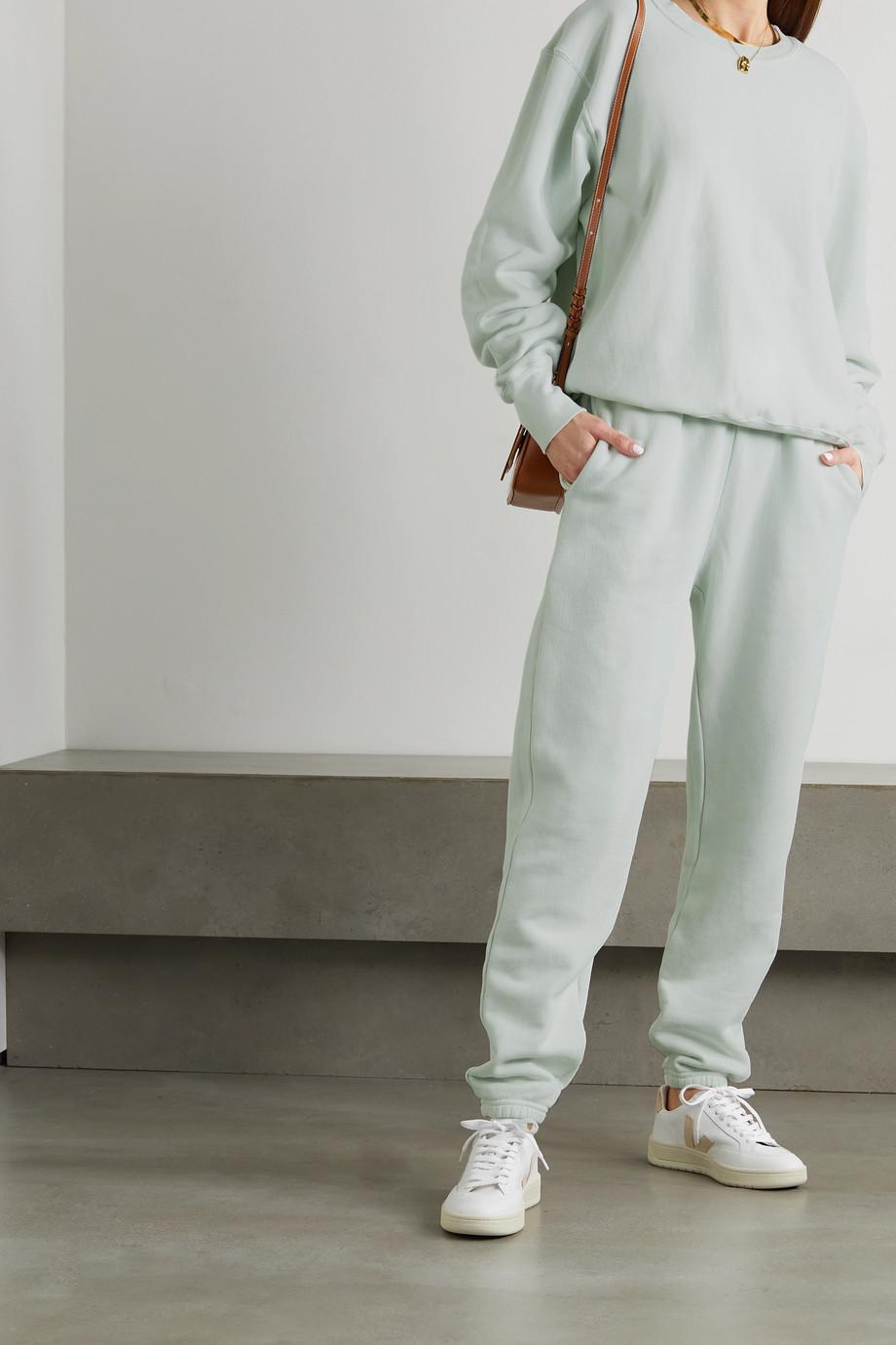 Les Tien Pantalon de survêtement en jersey de coton
