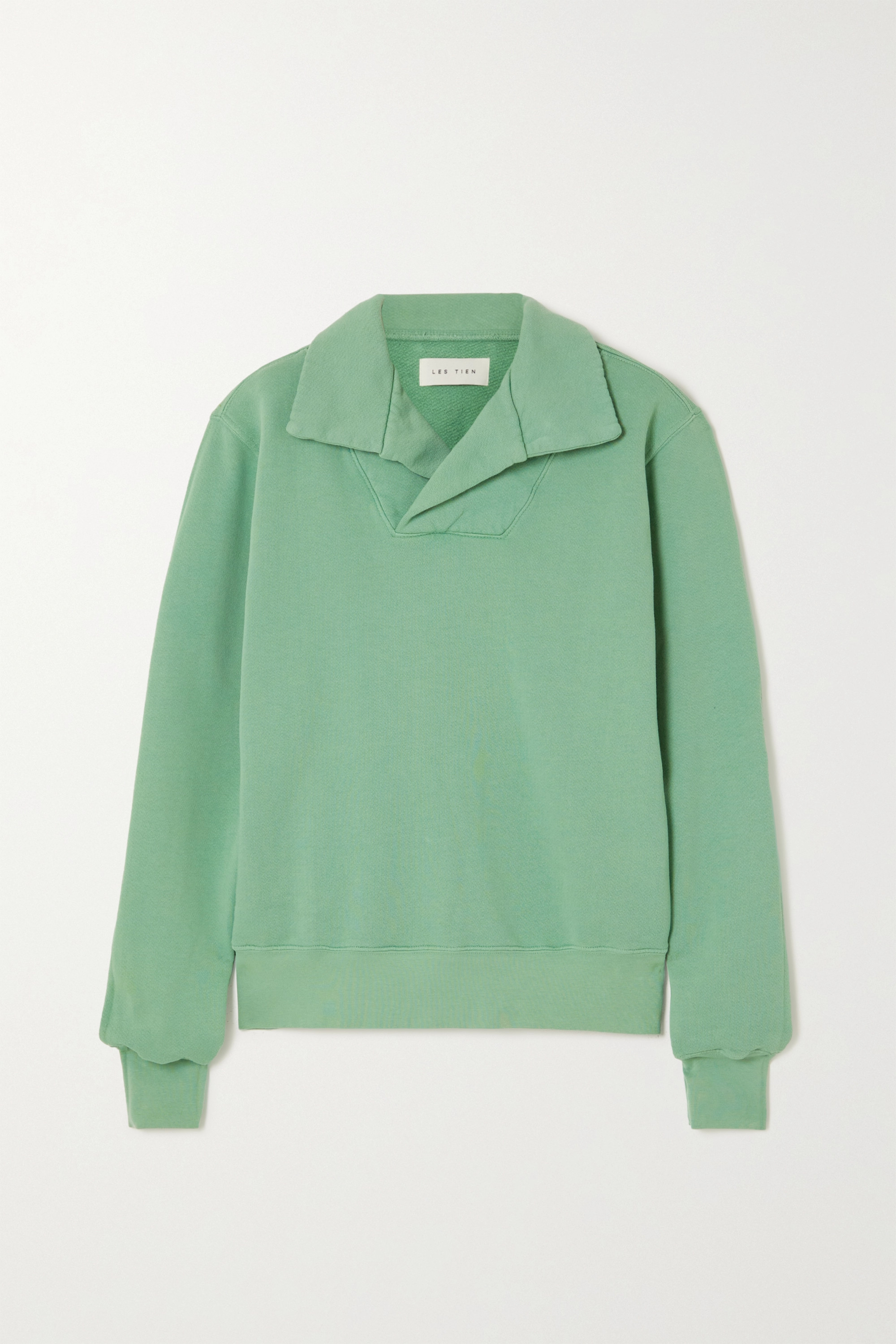 Les Tien Sweatshirt aus Baumwoll-Jersey