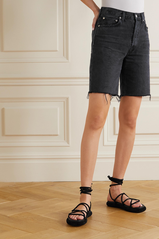 AGOLDE '90s Pinch distressed denim shorts