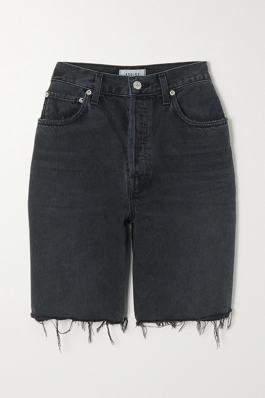 AGOLDE '90s Pinch distressed denim shorts