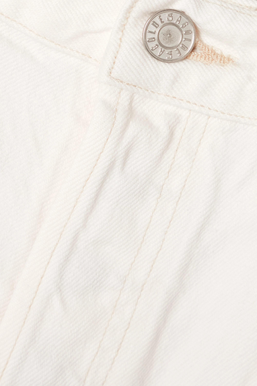 AGOLDE Short en jean effet vieilli Pinch '90s