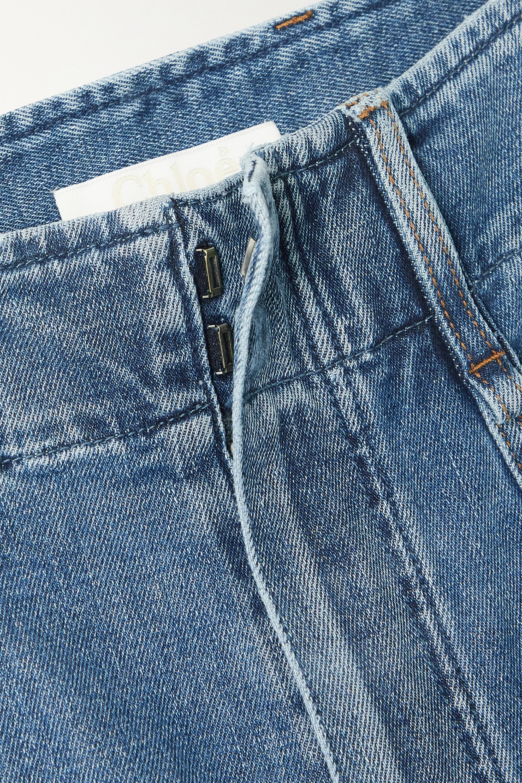 Chloé High-rise wide-leg jeans