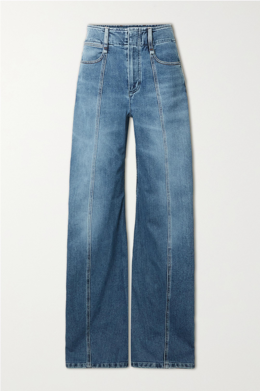 Chloé - High-rise wide-leg jeans