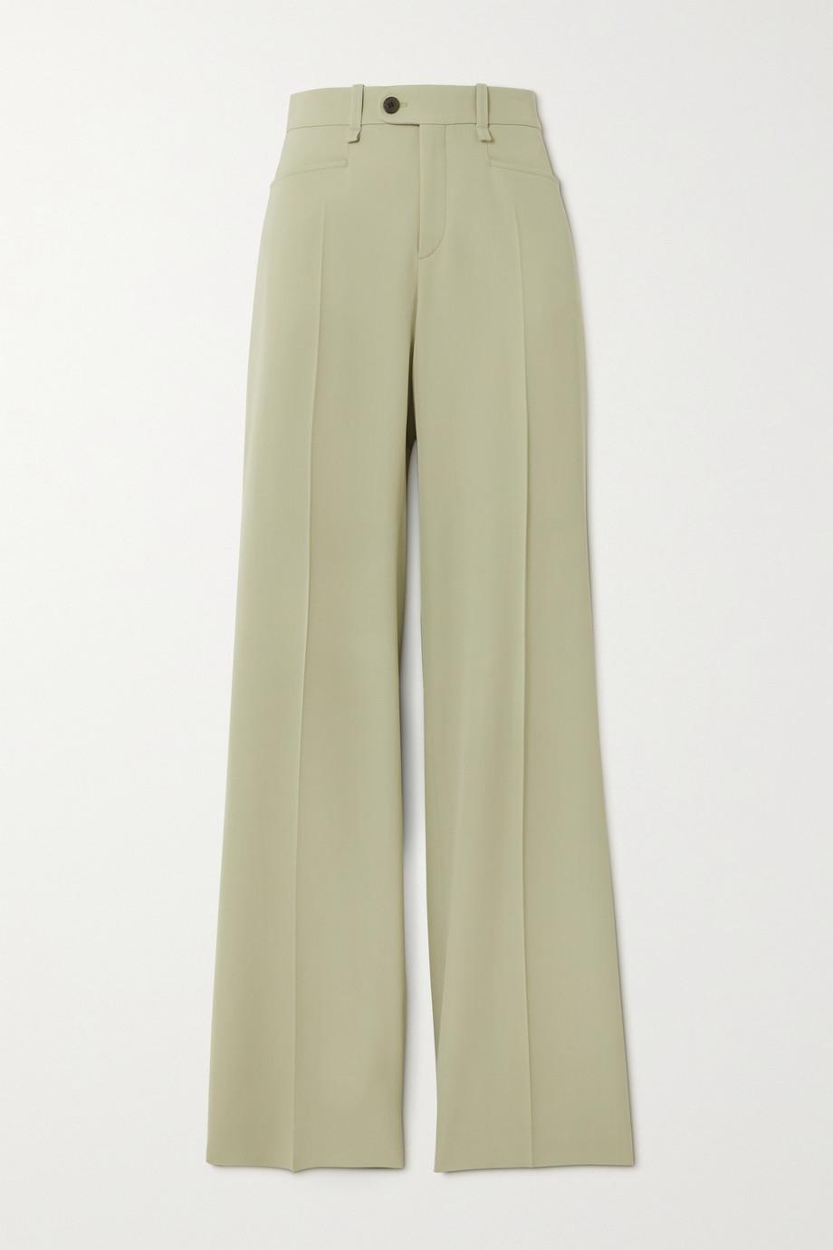 Chloé Pantalon large en laine