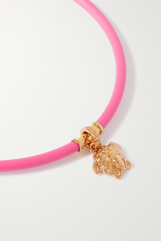 Versace Halsreif mit goldfarbenen Details