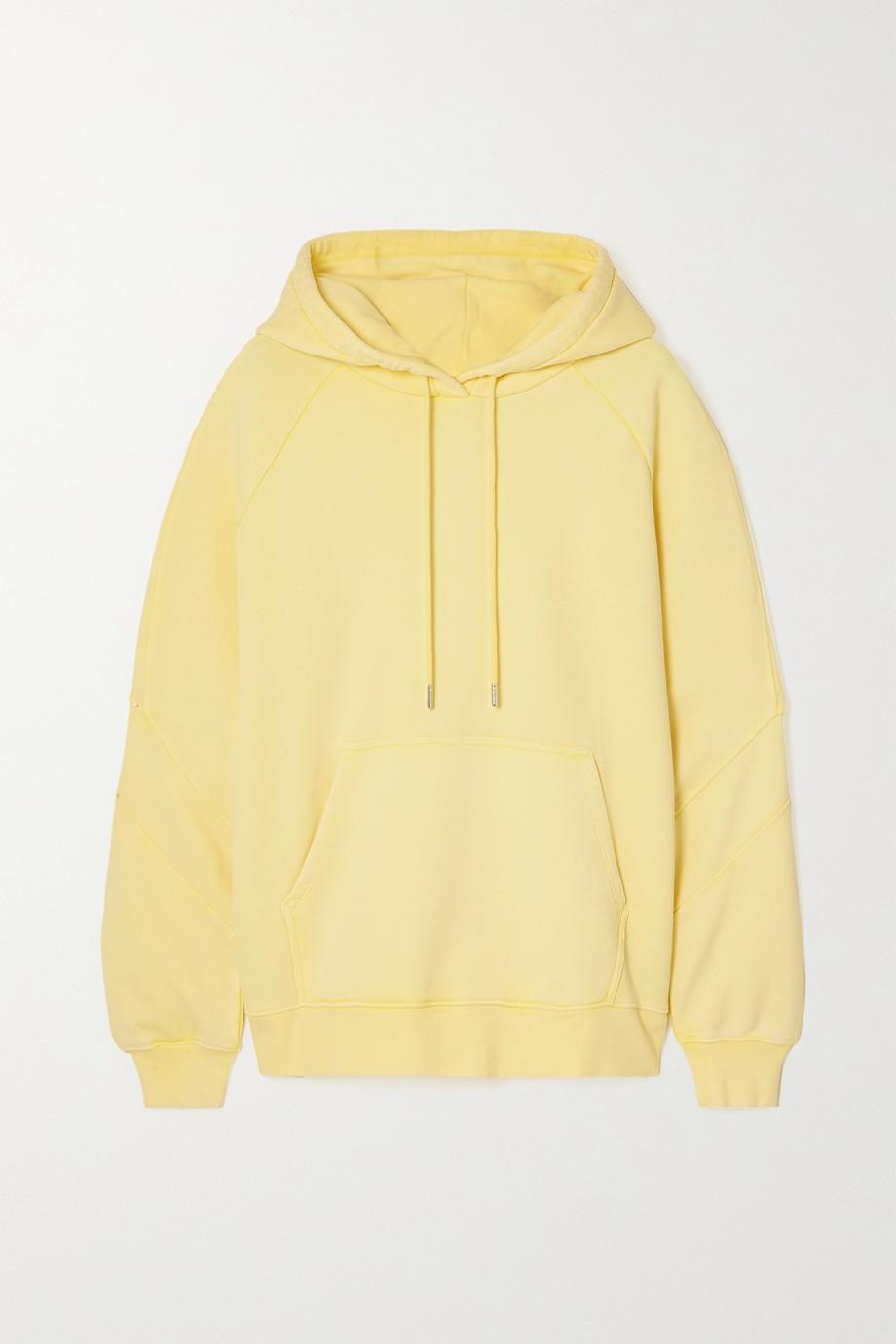 Ninety Percent Oversized organic cotton-jersey hoodie