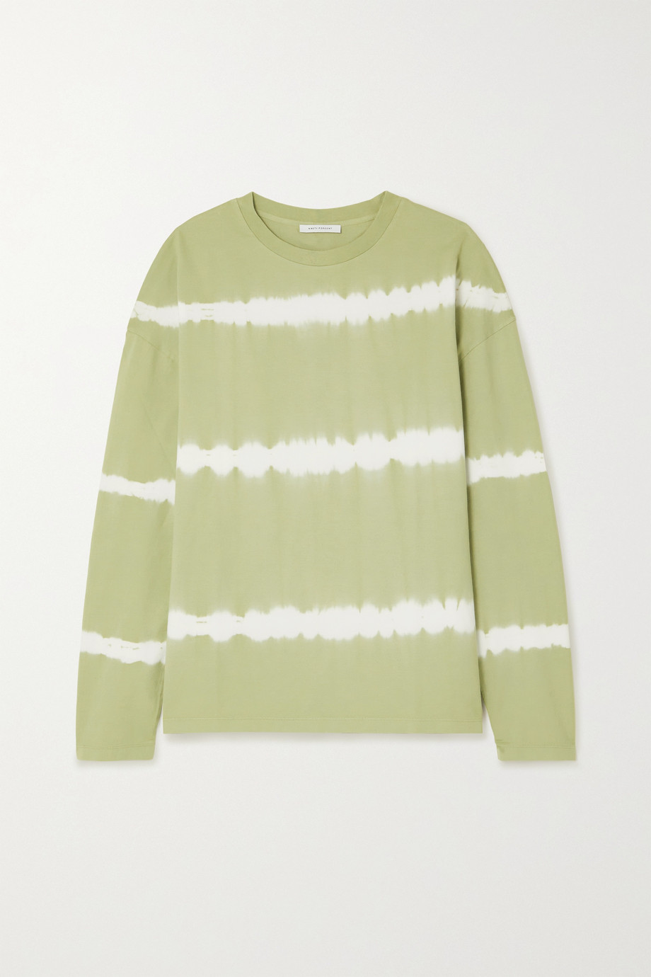 Ninety Percent Tie-dyed organic cotton-jersey top