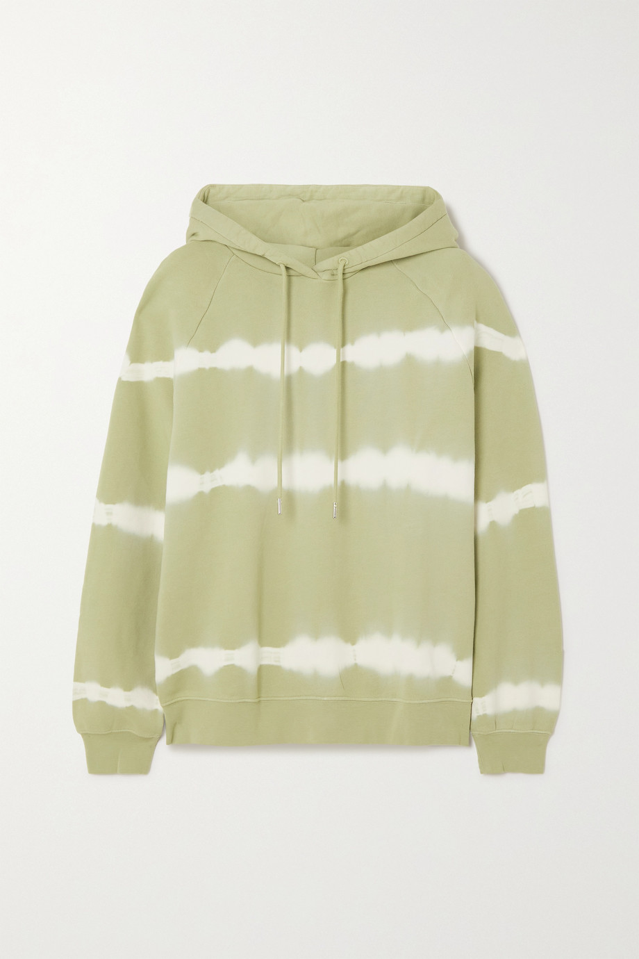 Ninety Percent Tie-dyed organic cotton-jersey hoodie